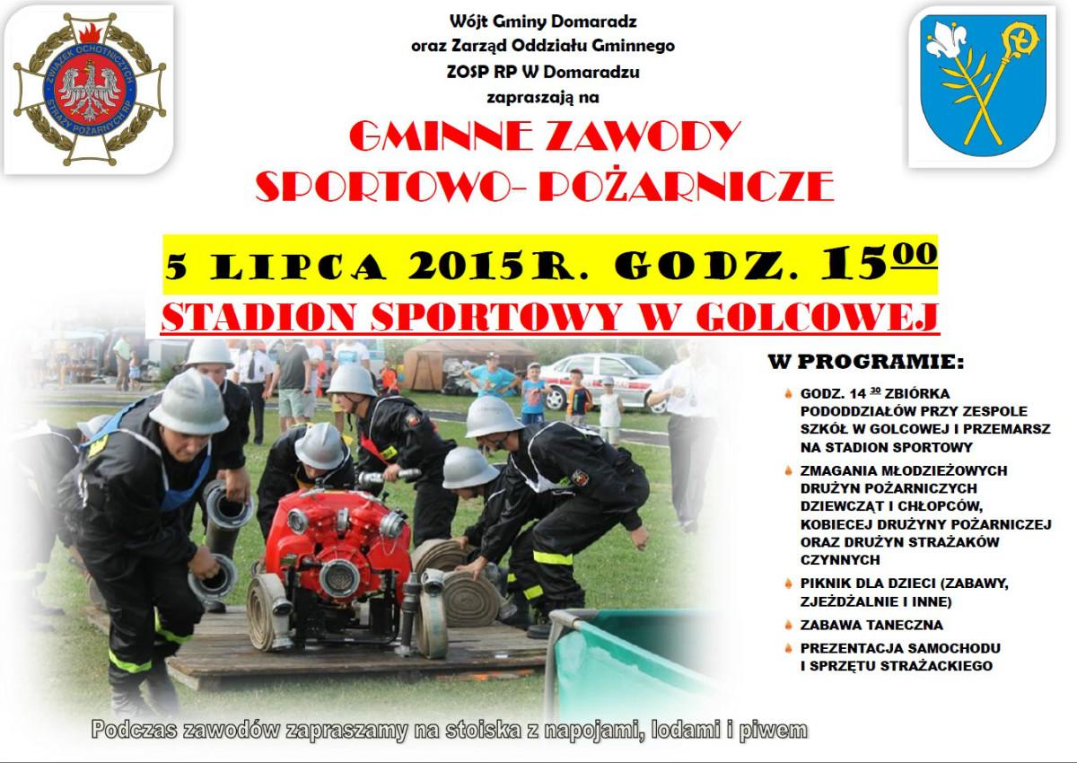 Gminne Zawody-Sportowo Pożarnicze