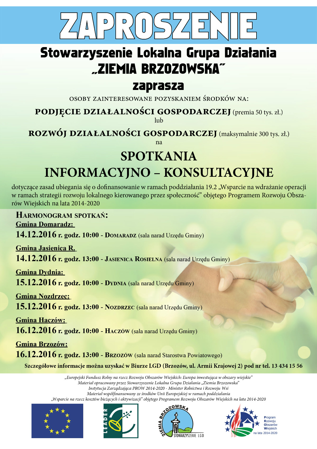 Zaproszenie LGD